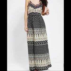 Band of Gypsies Boho Maxi Dress - small